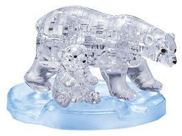 HCM Kinzel Crystal Puzzle Eisbaerenpaar