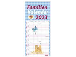 HEYE Familienplaner times more Schaffner Kalender 2021 45x21cm