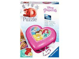 Ravensburger Puzzle 3D Puzzle Organizer Herzschatulle Disney Princess 54 Teile