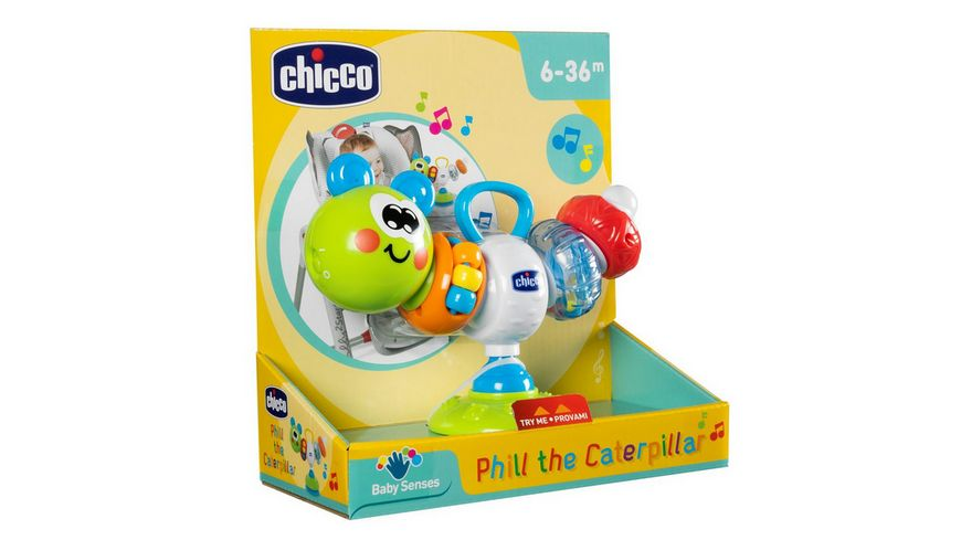 Chicco Phill die Raupe