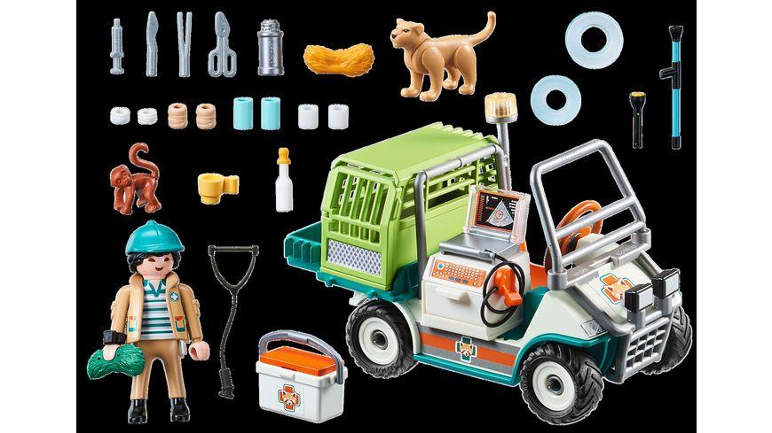 PLAYMOBIL 70346 Family Fun Zoo Tierarzt mit Fahrzeug