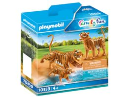 PLAYMOBIL 70359 Family Fun 2 Tiger mit Baby