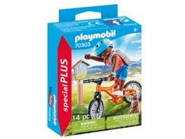 PLAYMOBIL 70303 specialPlus Mountainbiker auf Bergtour