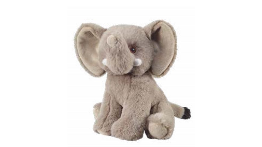 Bauer - Eco-Line- I LIKE MY PLANET - Plüsch-Elefant 20cm