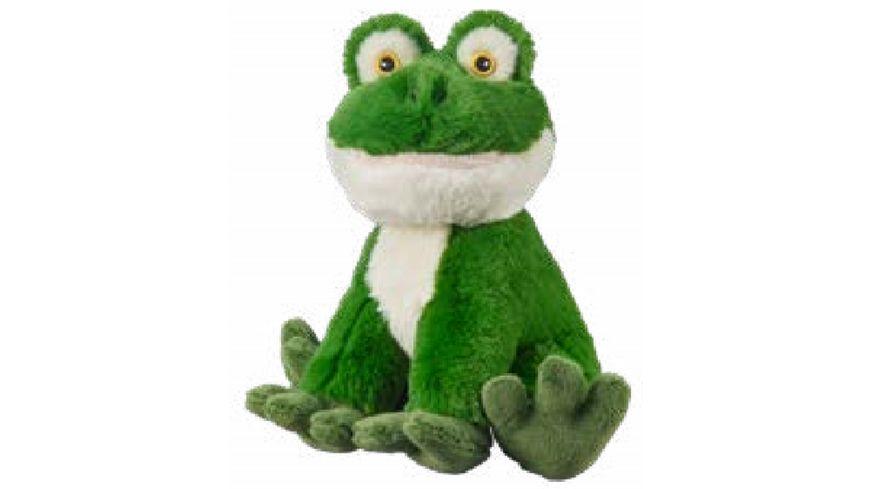 Bauer - Eco-Line- I LIKE MY PLANET - Plüsch-Frosch sitzend 20cm