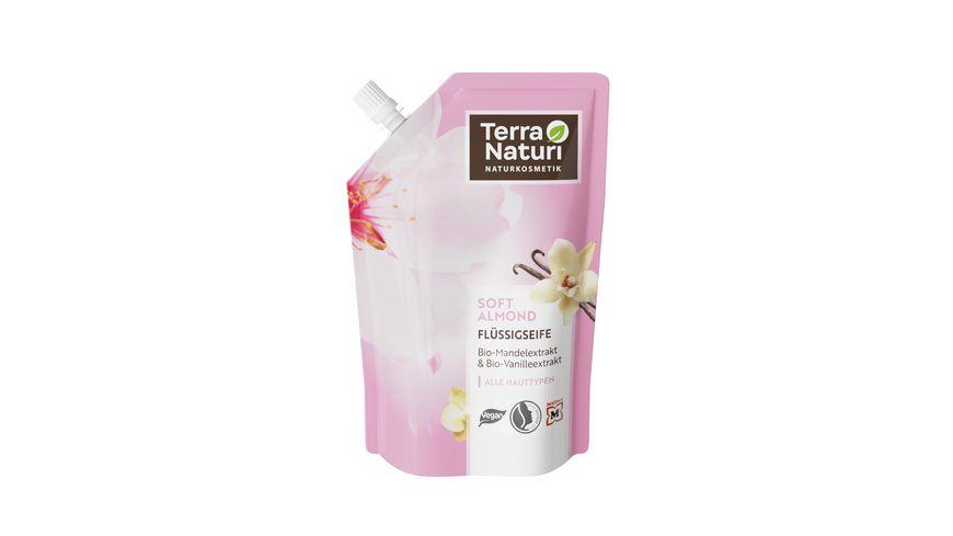 Terra Naturi Fluessigseife Soft Almond Nachfuellpack