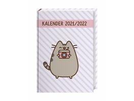 HEYE 17 Monats Kalenderbuch 2021 Pusheen 21 5x15 2cm