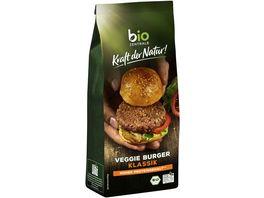 biozentrale Kraft der Natur Veggie Burger Klassik