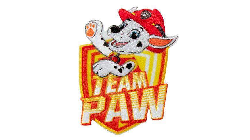 Mono Quick Buegelmotiv Paw Patrol Marshall Team