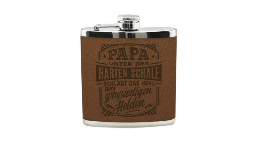 H H Flachmann Papa