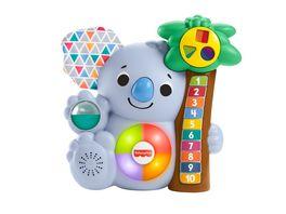 Fisher Price BlinkiLinkis Koala Baby Spielzeug mit Musik Lernspielzeug