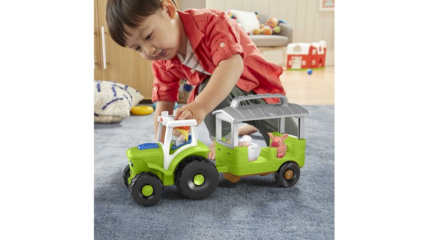 Fisher Price Little People Traktor D