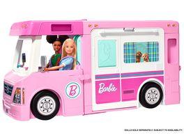 Barbie 3 in 1 Super Abenteuer Camper Barbie Auto Barbie Wohnmobil Barbie Wohnwagen