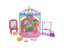 Mattel Barbie Chelsea Puppe und Ballett Spielset