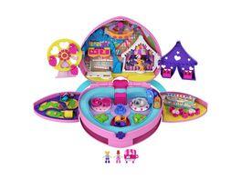 Mattel Polly Pocket Klein ganz gross Freizeitpark Rucksack