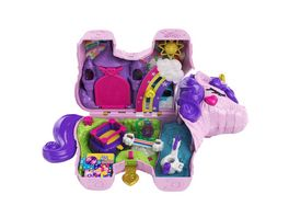 Mattel Polly Pocket Einhorn Party Spielset