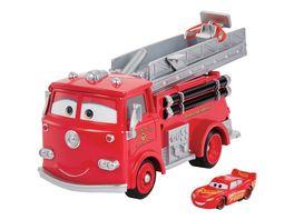 Disney Pixar Cars Farbwechsel Red Spielset und exklusives Lightning McQueen Fahrzeug
