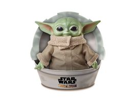 Mattel Star Wars Mandalorian The Child Baby Yoda Plueschfigur 28 cm