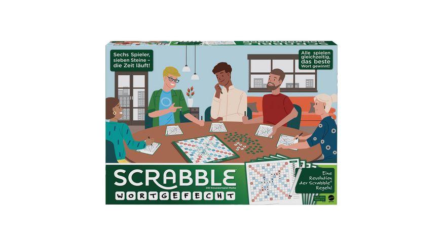 Mattel Games Scrabble Wortgefecht D
