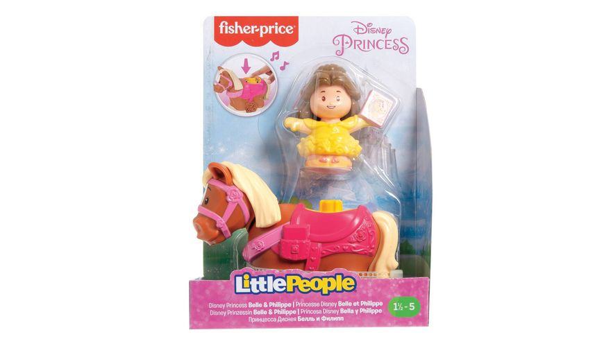 Fisher Price Little People Disneys Prinzessinnen Reitspass Duo 1 Stueck sortiert