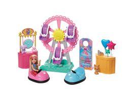 Mattel Barbie Chelsea Puppe und Jahrmarkt Spielset