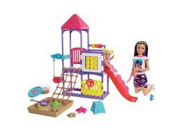 Mattel Barbie Skipper Babysitters Inc Puppen und Spielplatz Spielset