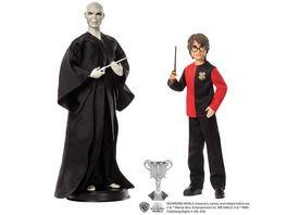 Harry Potter Geschenkset fuer Sammler mit Voldemort Puppe und Harry Potter Puppe