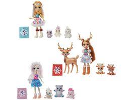Mattel Enchantimals GJX43 Familie 1 Stueck sortiert