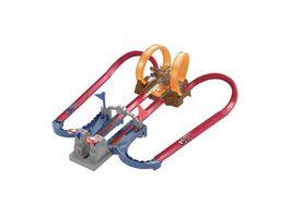 Hot Wheels Mario Kart Bowsers Festung Track Set inkl Spielzeugauto Autorennbahn