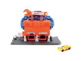Hot Wheels Gorilla Angriff Werkstatt Spielset inkl 1 Spielzeugauto