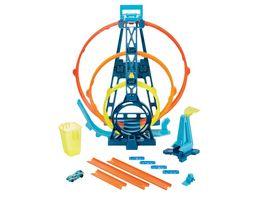 Hot Wheels Track Builder Unlimited Looping Set inkl Spielzeugauto Autorennbahn