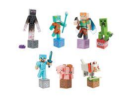 Mattel Minecraft Comic Maker Actionfigur 1 Stueck sortiert