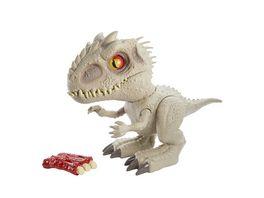 Jurassic World Feeding Frenzy Indominus Rex mit Lichtern und Geraeuschen