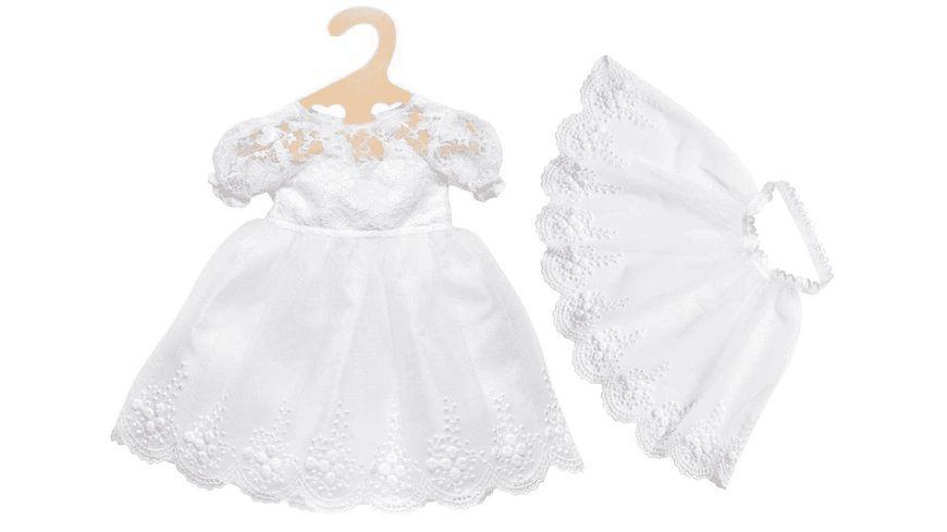 Heless Puppen Brautkleid Sissi mit Schleier Gr 35 45 cm