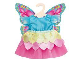 Heless Puppen Feenkleid Schmetterling Gr 35 45 cm