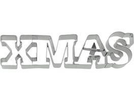 RBV BIRKMANN Ausstechform Schriftzug Xmas