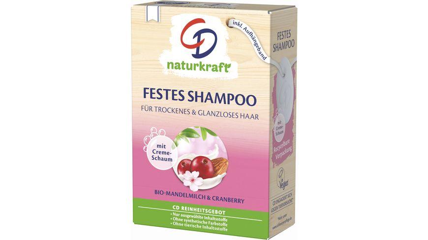 CD Festes Shampoo mit Bio-Mandelmilch und Cranberry