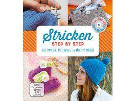Stricken Step by Step Mit Strickschule auf DVD