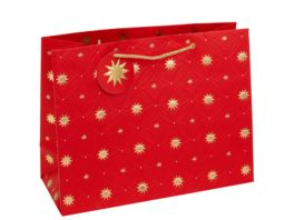 TRUBA Geschenktasche Shopper maxi Exclusiv red