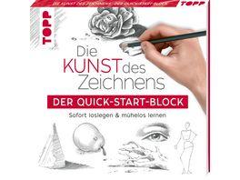 Die Kunst des Zeichnens Der Quick Start Block Sofort loslegen und muehelos lernen
