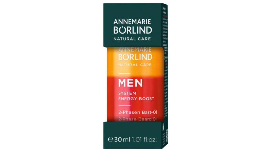 ANNEMARIE BOeRLIND MEN 2 PHASEN Bart Oel