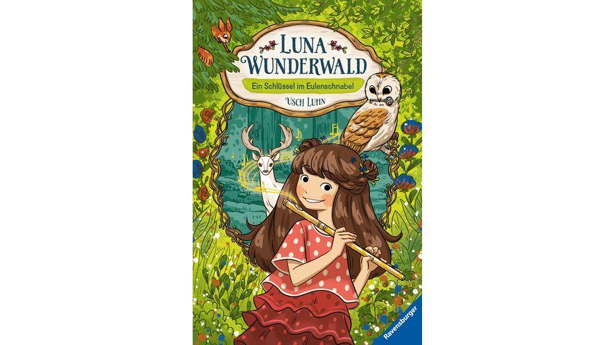 Luna Wunderwald, Band 1: Ein Schlüssel im Eulenschnabel