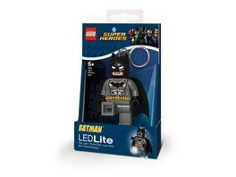 Joy Toy LEGO DC Super Heroes Grey Batman Schluesselanhaenger mit Taschenlampe
