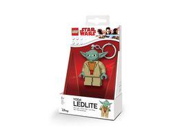 Joy Toy LEGO Star Wars Yoda Schluesselanhaenger mit Taschenlampe