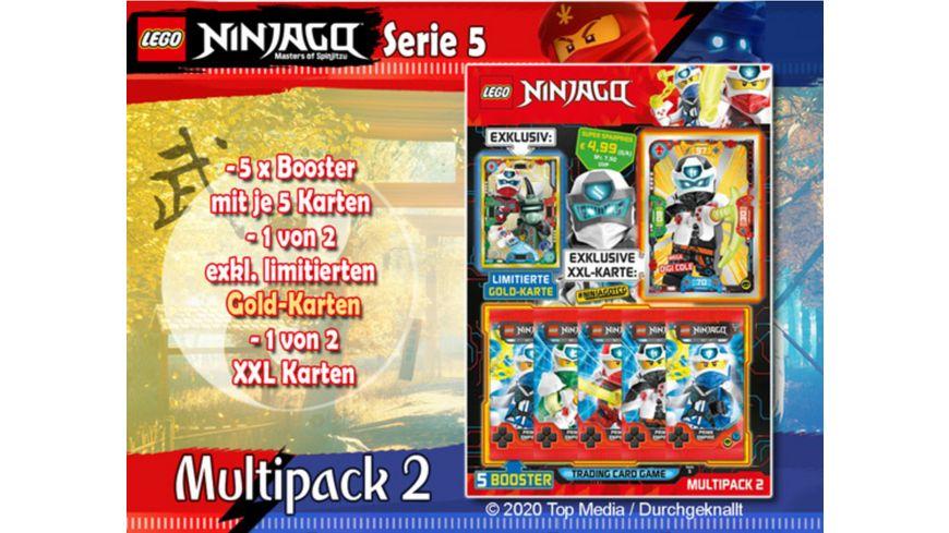 Blue Ocean - Lego Ninjago Serie 5 Multi-Pack Nr. 2, 1 Stück, sortiert