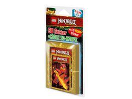 Blue Ocean Lego Ninjago Legacy Blister mit 10 Tueten 3D Karte