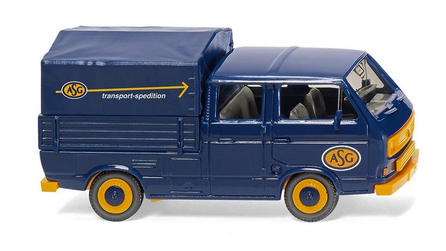 WIKING 029308 1 87 VW T3 Doppelkabine ASG