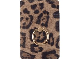 OHLALA Universal Card Pocket Holder mit Ring Leo