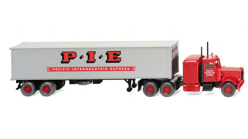 WIKING 052706 1 87 Containersattelzug Peterbilt Pacific Intermount Express