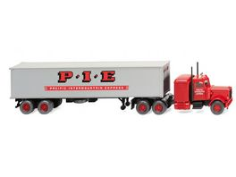 WIKING 052706 1 87 Containersattelzug Peterbilt Pacific Intermount Express